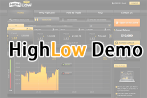 highlow demo account