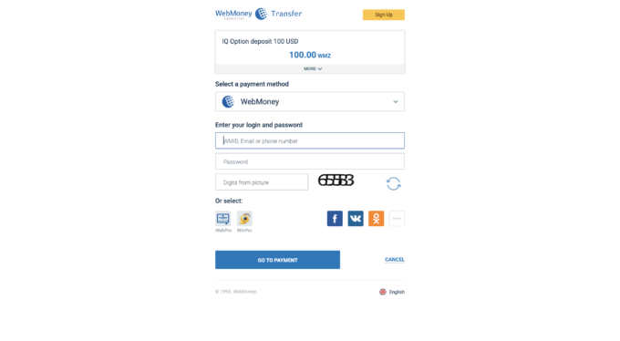 iqoption deposit webmoney